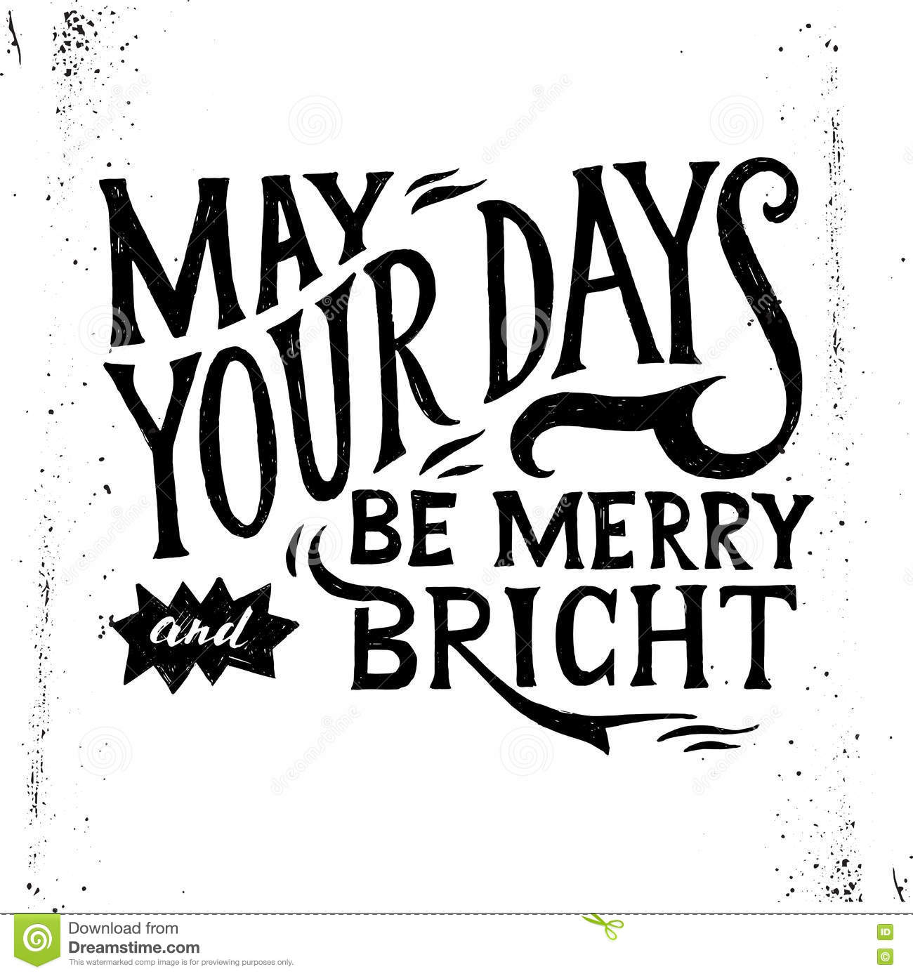 may your days merry