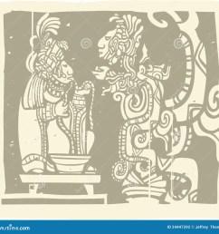 maya priest vision [ 1300 x 1241 Pixel ]