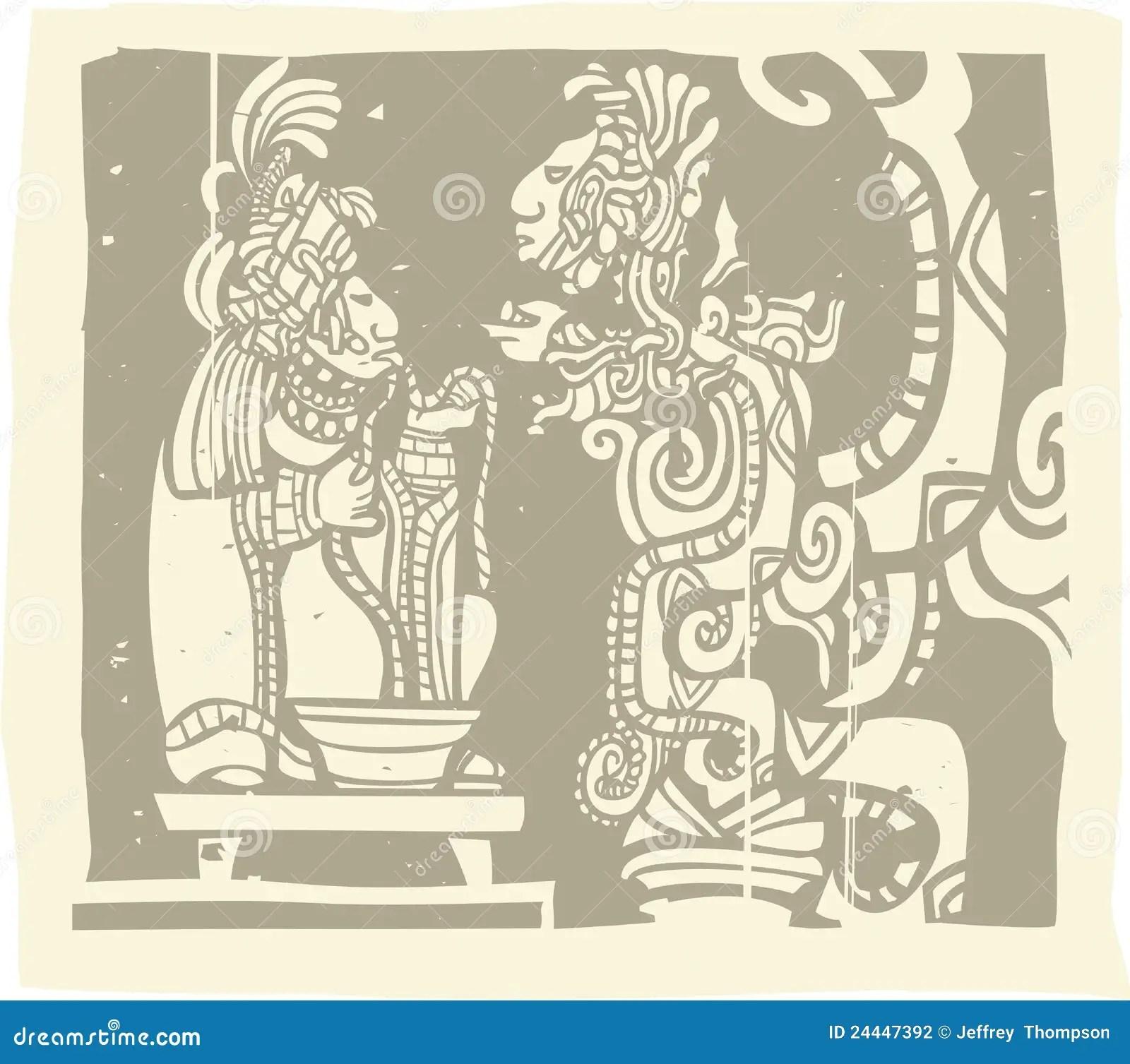 hight resolution of maya priest vision