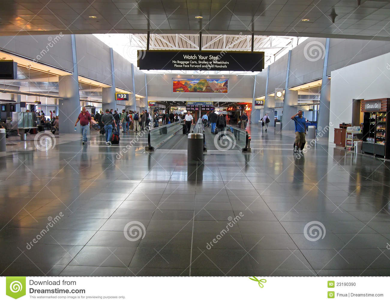 McCarran International Airport Interior Las Vegas