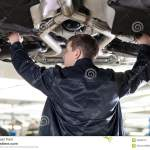 Mechanic At Work Stock Image Image Of Auto Tool Mode