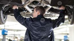 Mechanic At Work Stock Image Image Of Auto Tool Mode 32808781