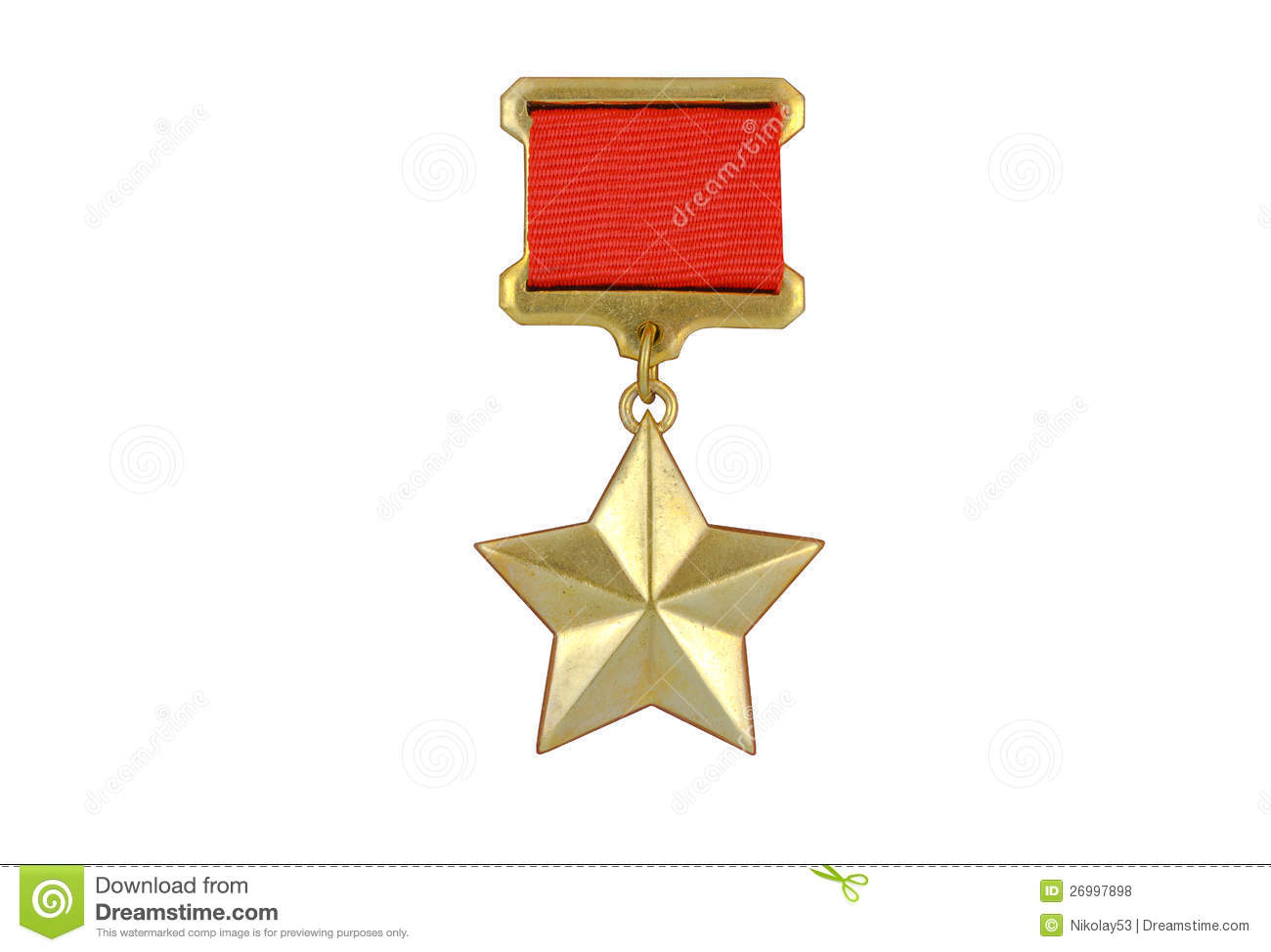 Soviet Hero Union Medal