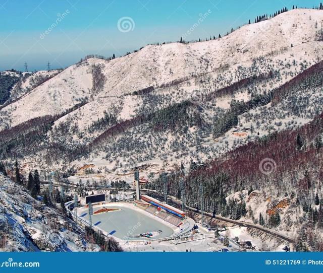 Medeo Medeu Skating Rink In Almaty Kazakhstan