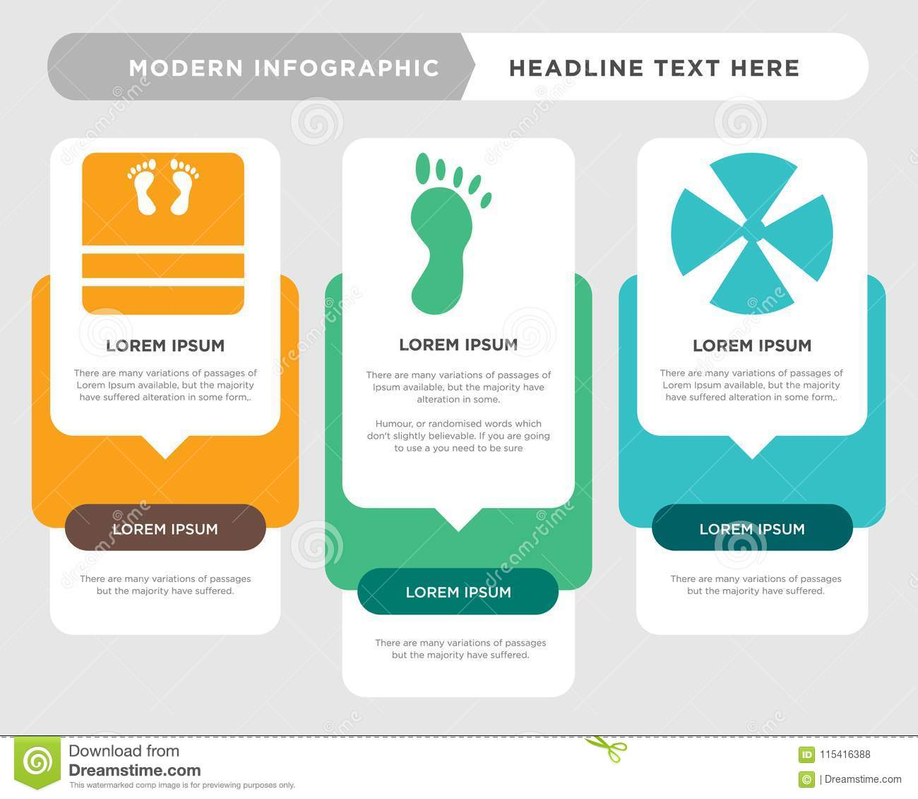 hight resolution of medical business infographic template the concept is option step with full color icon can be used for foot diagram infograph chart business presentation or