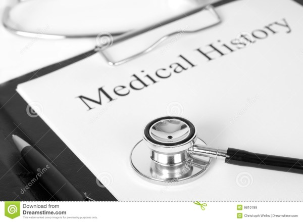 Medical History Royalty Free Stock - 9810789