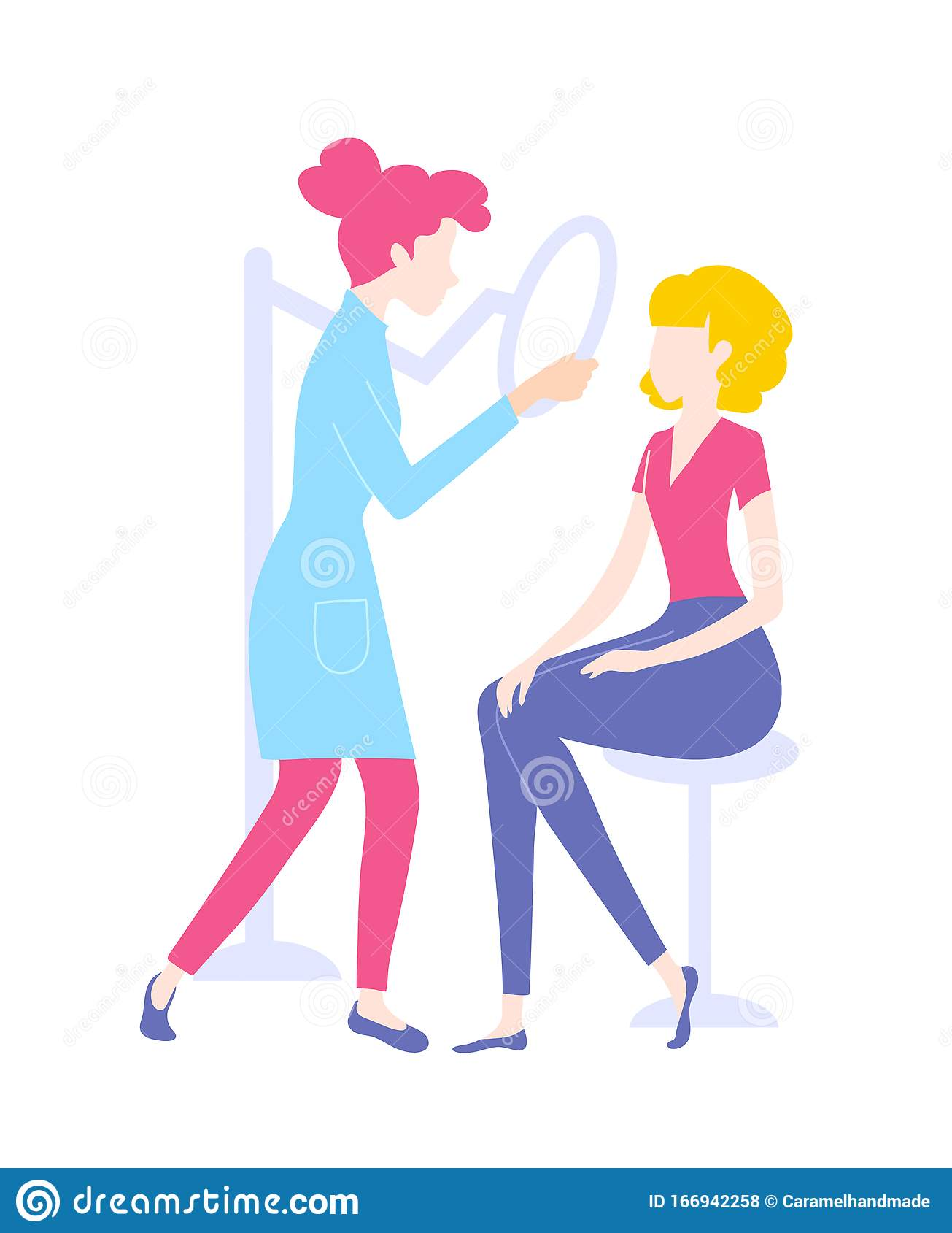 Dermatologist Clipart : dermatologist, clipart, Checking, Dermatologist, Stock, Illustrations, Illustrations,, Vectors, Clipart, Dreamstime