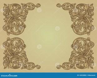 medieval background patterns brown vector royalty dreamstime