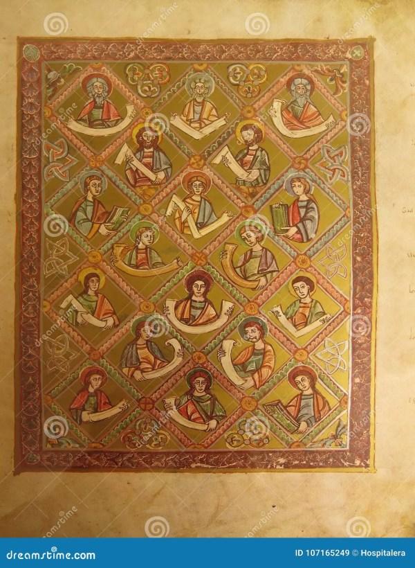 Medieval Monk Stock - 5 313