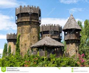 castle medieval wooden stone haunted