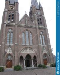 Medieval Church In The Netherlands Stock Photo Image of cuijk towers: 126557534