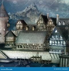 fantasy highlands village