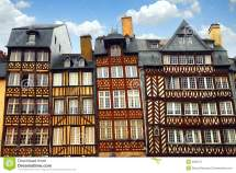 Medieval Houses Royalty Free Stock
