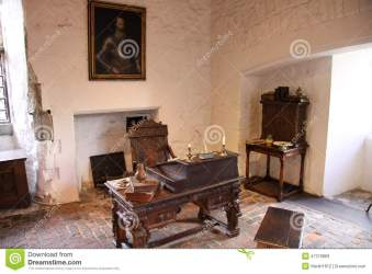 Medieval interior stock image Image of tiles room white 47379869