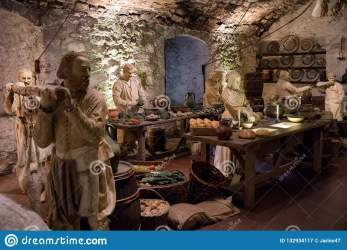 Medieval Kitchen At Stirling Castle Scotland Editorial Photography Image of medieval kitchen: 132934117