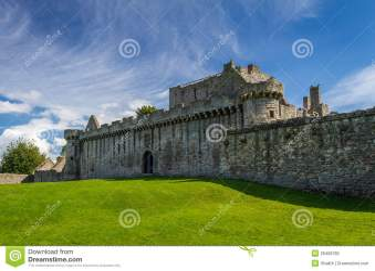 medieval scotland castle stone preview building