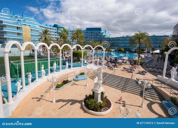 Mediterranean Palace Hotel In Las Americas On February 23 ...