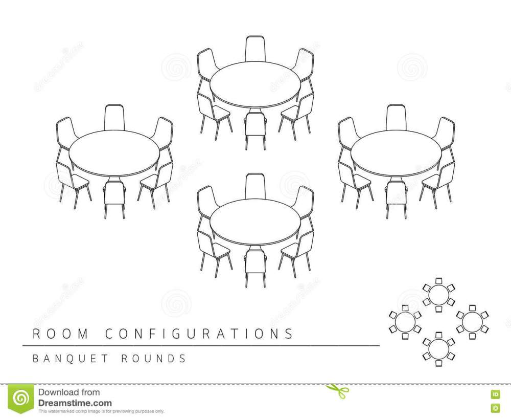 medium resolution of meeting room setup layout configuration banquet rounds style