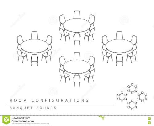 small resolution of meeting room setup layout configuration banquet rounds style