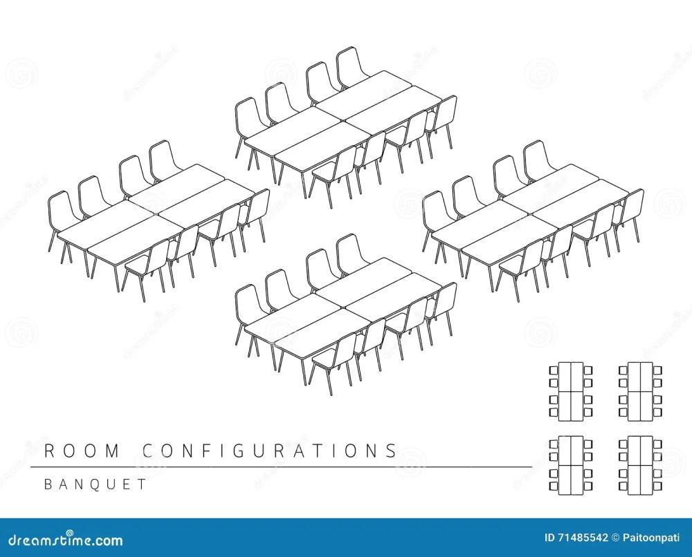 medium resolution of meeting room setup layout configuration banquet style