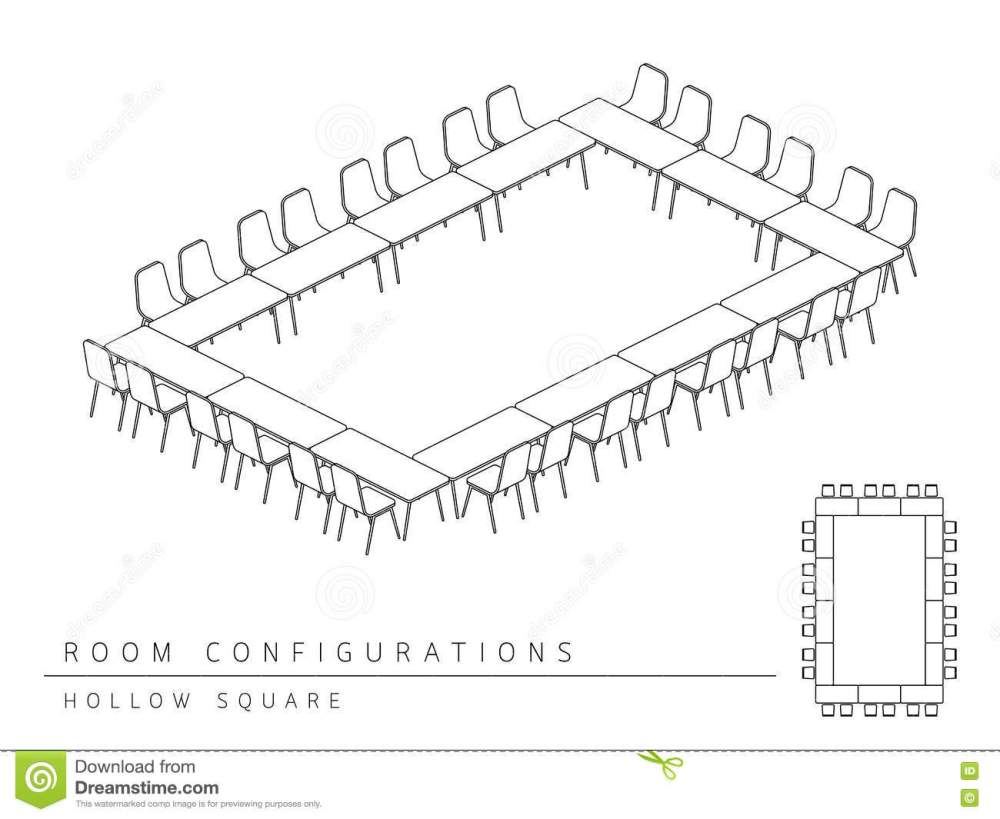 medium resolution of meeting room setup layout configuration hollow square style per