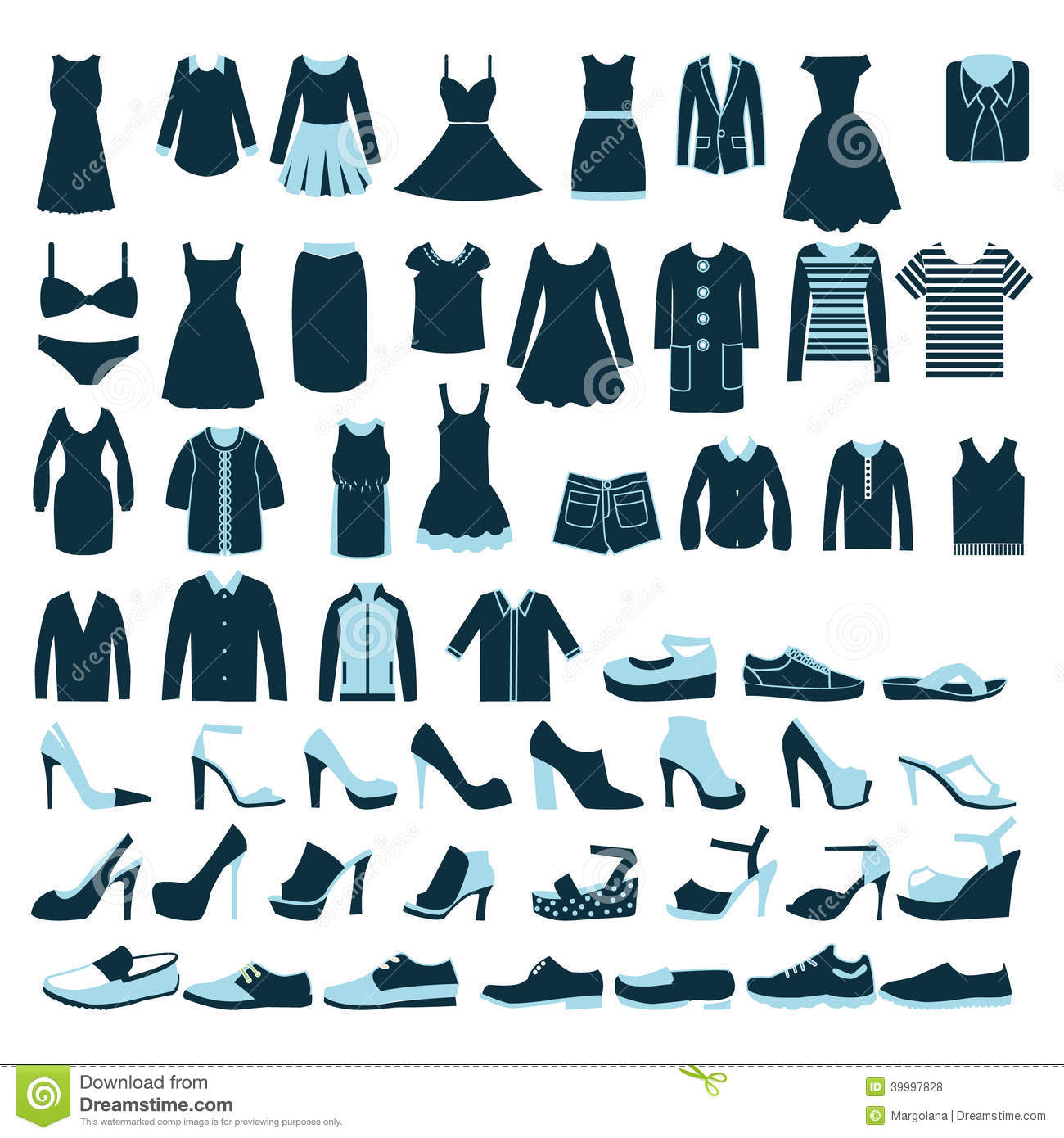 mens and women clothes