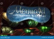 Mermaids Lounge Sign Silverton Hotel In Las Vegas