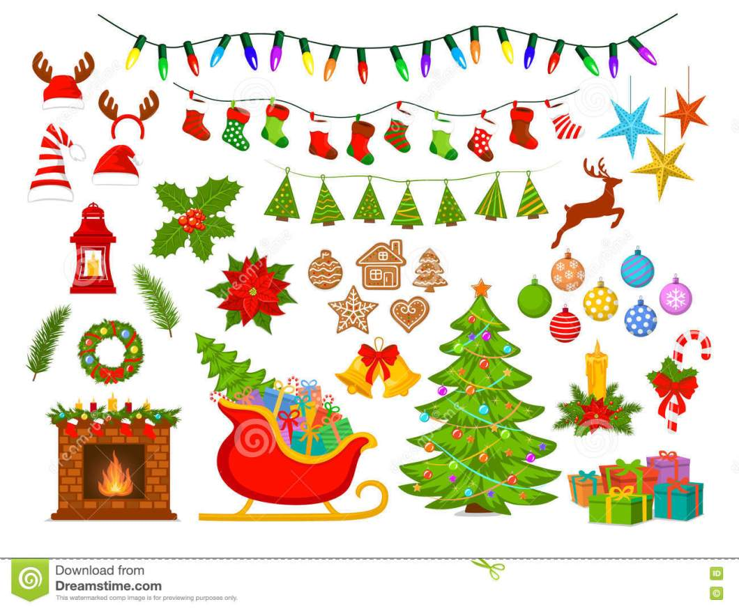 List of decoration items for christmas for Decoration list