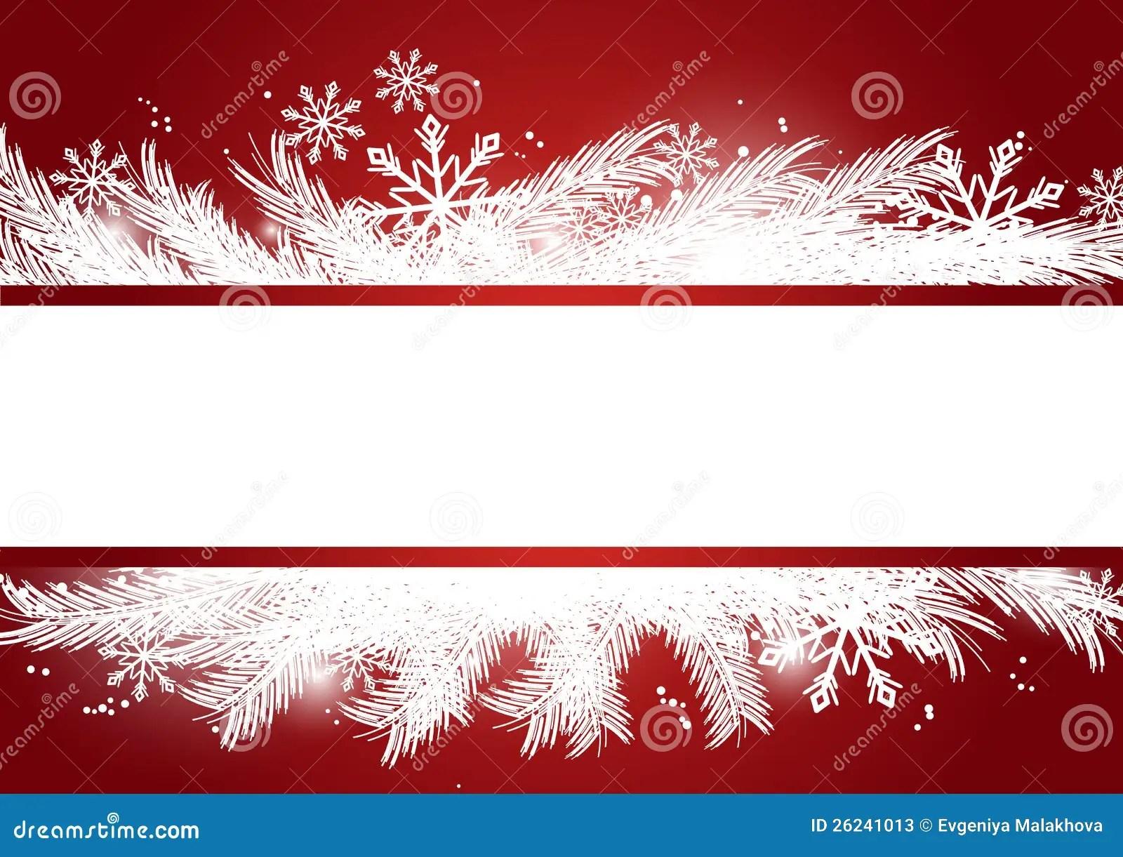 Merry Xmas Banner Stock Vector Illustration Of