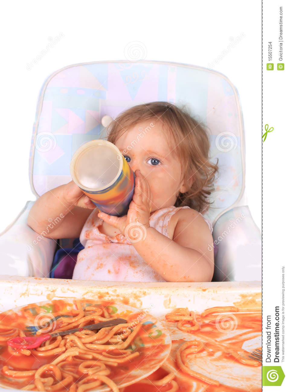 Baby Milk Cup Drinking