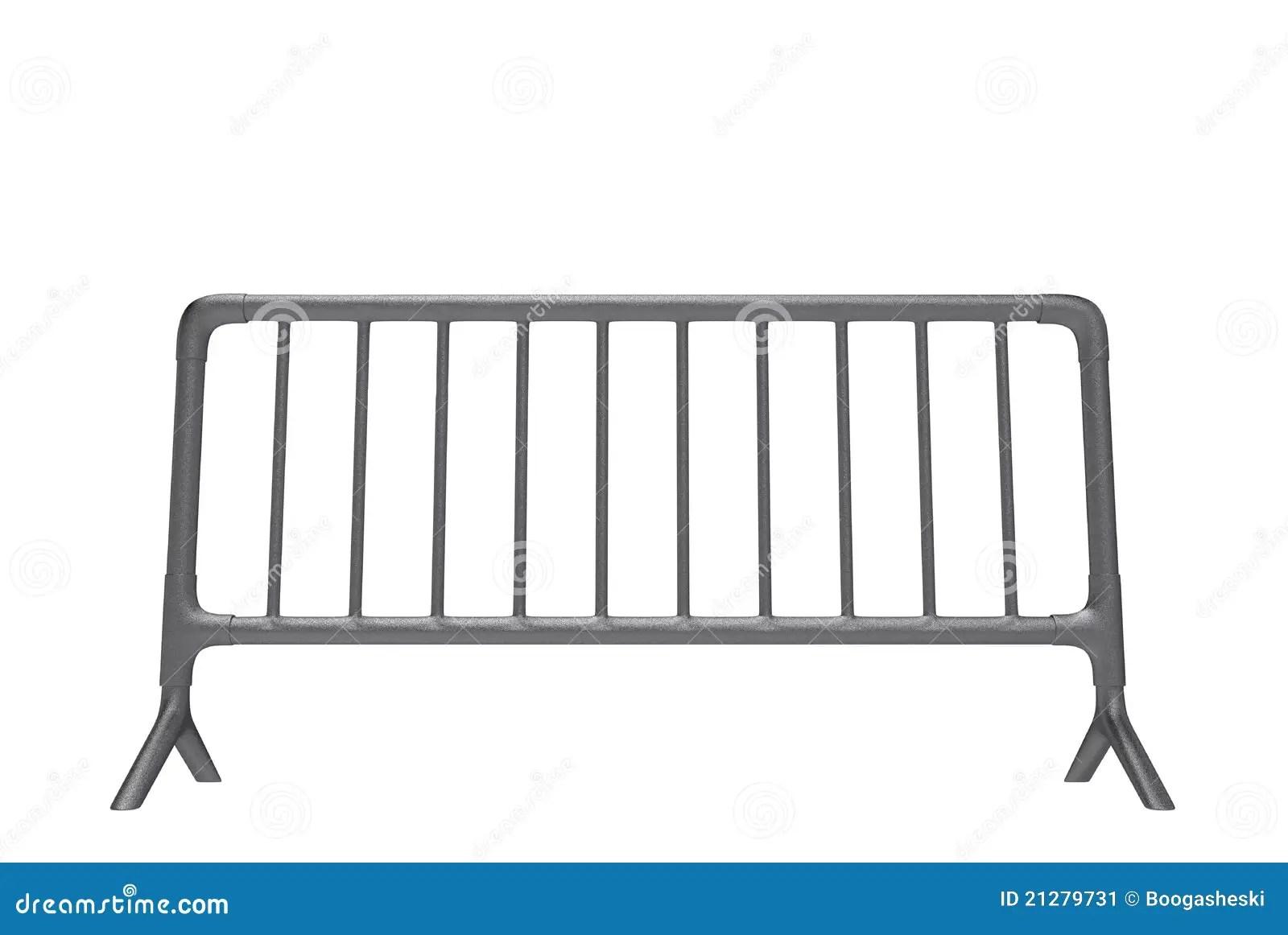 Metal Barrier Stock Illustration Illustration Of Divider