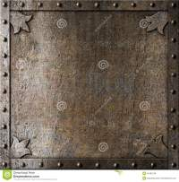 Metal Medieval Door Background Stock Photo - Image: 40182748