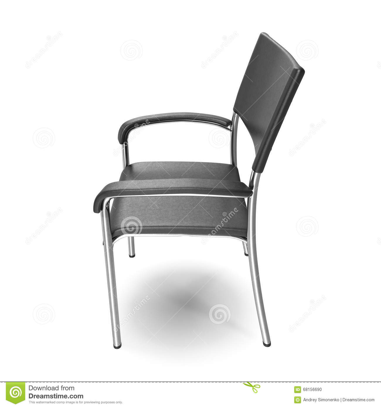 metal leg chair black patio chairs office with steel legs on white background