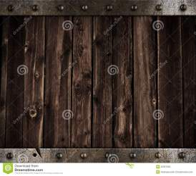medieval background metal wooden