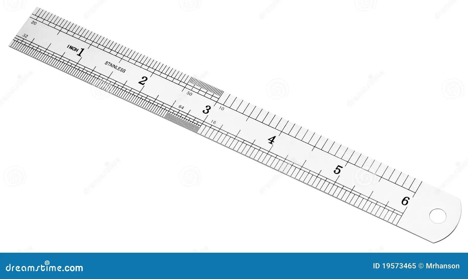 Millimeter Inch Ruler
