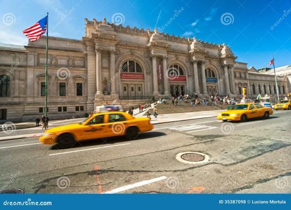 Metropolitan Museum Of Art In York Editorial Stock