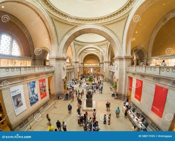 Metropolitan Museum Of Art In York Editorial