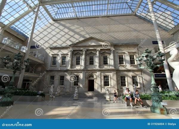 Metropolitan Museum Of Art Nyc Editorial Stock