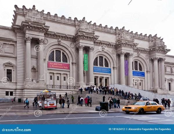 Metropolitan Museum York City Editorial