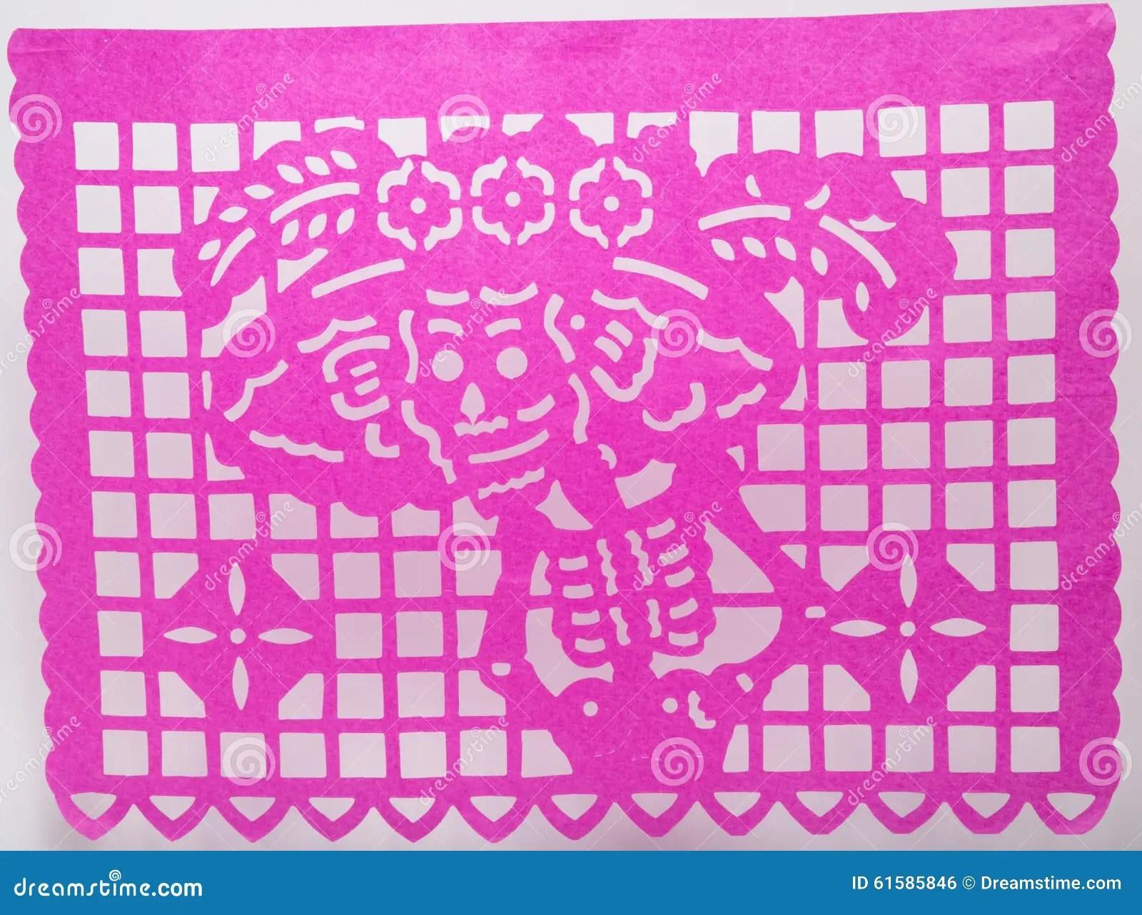 Papel Picado Cartoon Vector 15581211
