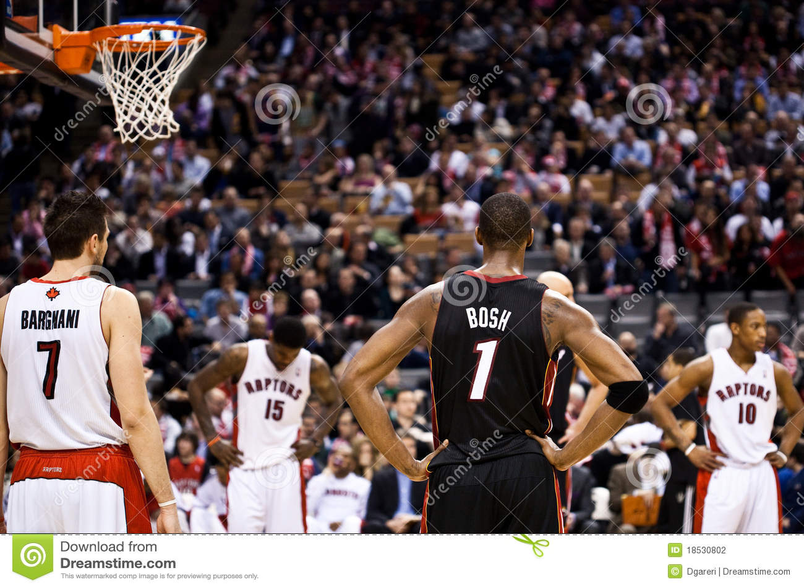 Miami Heat Vs Toronto Raptors Editorial Photography