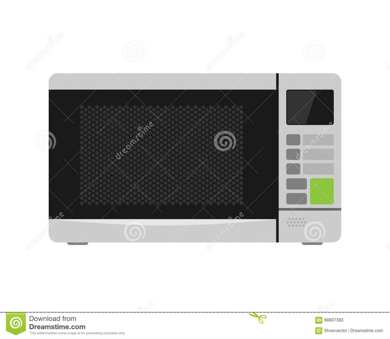 hight resolution of microwave oven equipment vector illustration kitchenware appliance hot symbol electric tool and domestic electrical cooking stove household technology
