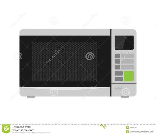 small resolution of microwave oven equipment vector illustration kitchenware appliance hot symbol electric tool and domestic electrical cooking stove household technology