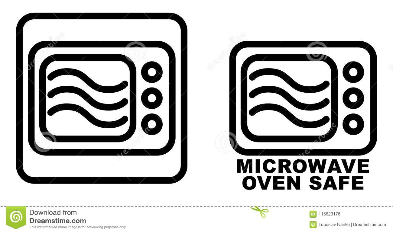 https www dreamstime com microwave safe container icon simple black lines oven drawing w microwave safe container icon simple black lines oven drawing image115823176