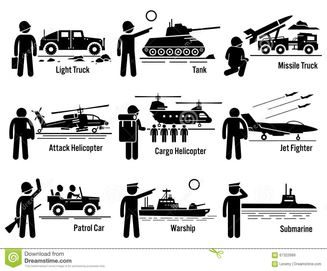 hight resolution of military vehicles army soldier transportation set clipart