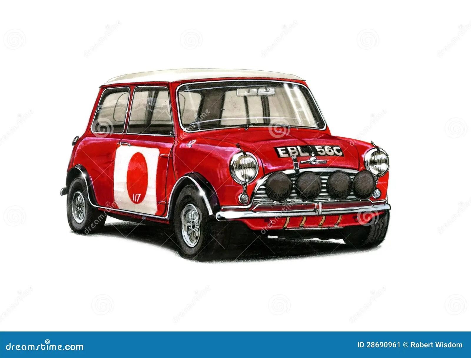 hight resolution of mini cooper racing