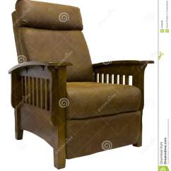 Mission Recliner Chair Plans Toys R Us Rocking Canada Style Leather Reclining Stock Photo Image