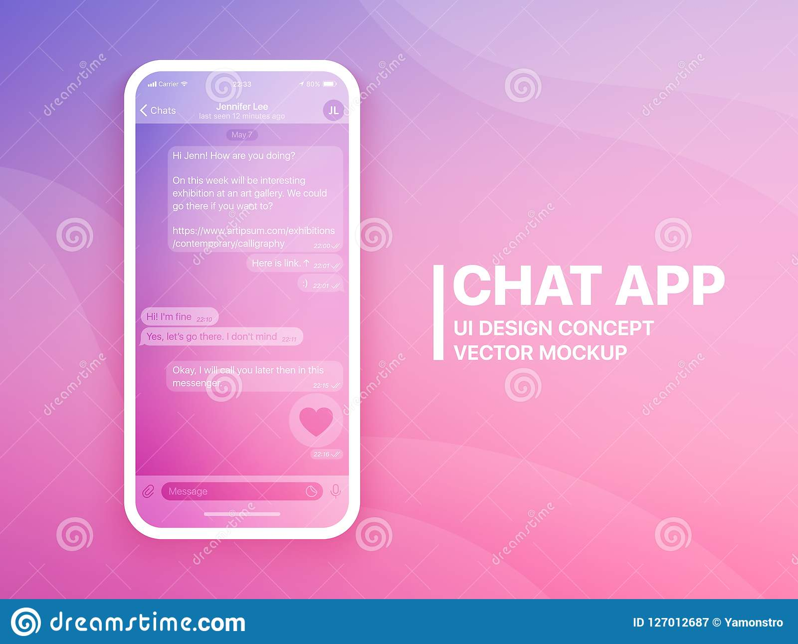 Replace the existing content with your text, images and others. Whatsapp Mockup Stock Illustrations 182 Whatsapp Mockup Stock Illustrations Vectors Clipart Dreamstime