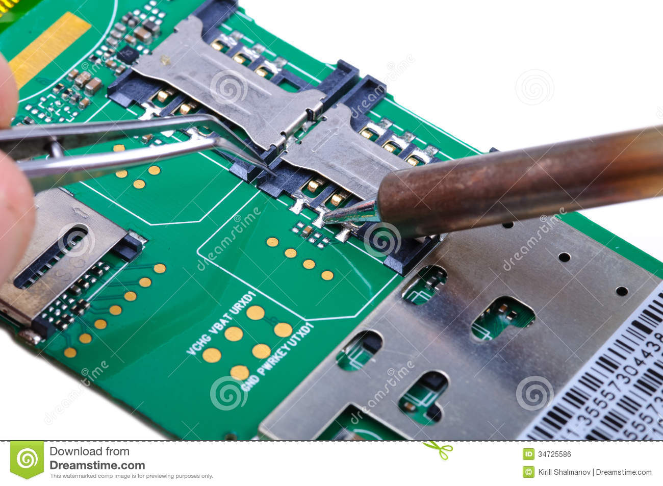 Repair Of Printed Circuit Boards In The Radio Laboratory