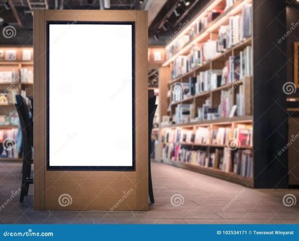 Bookstore Interior Stock - Royalty Free